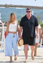 Kylie Lim and James Packer