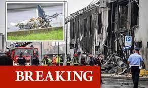 Milan plane crash